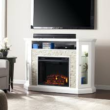 Corner Electric Fireplace Tv Stand White Corner Electric Fireplace Entertainment Center Unit Lowes