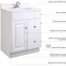 design house bath hardware design house dnh 545087 wyndham semi gloss white single basin