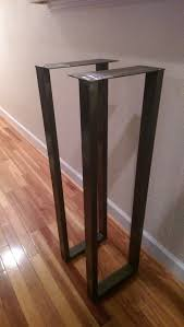 bar height table legs wood this is for a set of welded steel legs for entryway tables coffee
