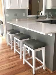 kitchen quartz countertops simply white and chelsea gray kitchen evolution of style
