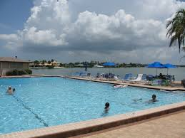 pool at the st pete beach yacht and tennis club tampa bay