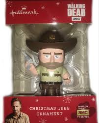 amazon com 2015 hallmark walking dead rick grimes christmas tree