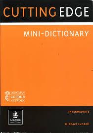 cutting edge upper intermediate mini dictionary books