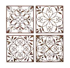 metal home decorating accents decorative metal scroll wall decor accents