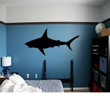 shark decal great shark wall art shark week shark