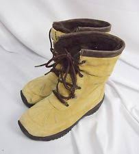 columbia womens boots size 9 columbia s solid leather winter boots ebay