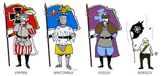Breton Flag Warhammer Flag Bearers 4chan Flag Bearers Know Your Meme