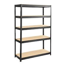 Metal Shelving Unit Boltless Steel And Particleboard Shelving 48x18 Safco Products