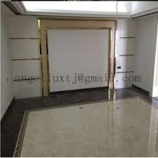china gold color stainless steel shower door frame parts tile trim