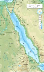 What Is A Topographic Map File Red Sea Topographic Map En Jpg Wikimedia Commons