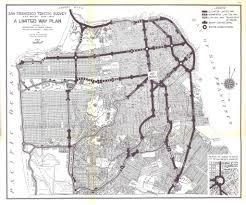 San Francisco Traffic Map by San Francisco U0027s Version Of The El Train Curbed Sf