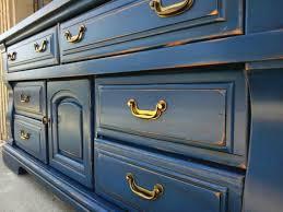 Distressing Diy by Diy Inspiration Painted Glazed U0026 Distressed Furniture Blue