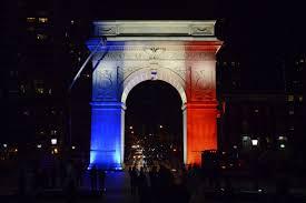 landmarks light up for france business insider