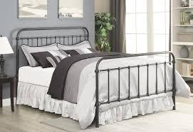 Marilyn Monroe Bedroom Furniture Coaster Livingston Transitional King Metal Bed Coaster Fine