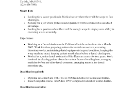 resume resumes for dental assistant beautiful dental hygiene