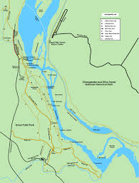 Virginia Rivers Map by Great Falls Park Virginia Walk Maps And Directions