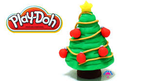 play doh xmas christmas tree youtube