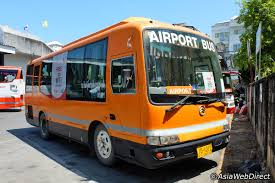 phuket airport bus the cheapest way to get to phuket town from