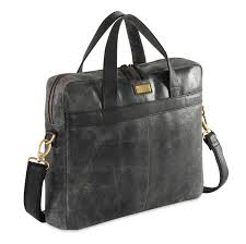 Rugged Laptop Bags Buy Crackle Rugged Leather Laptop Bag Um45 Black Free Uk Delivery