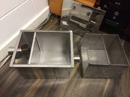 Grease Trap For Kitchen Sink Grease Trap Installation Plumbing Diy Home Improvement