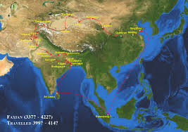 Delta Route Maps by Chinese Pilgrims To Central Asia India And Se Asia