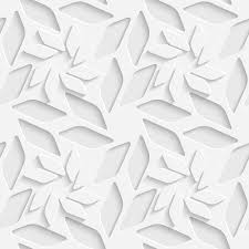 seamless background paper white flowers seamless background paper cut vector white flower