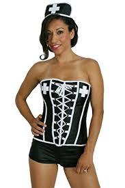 Nurse Halloween Costume Amazon Sexitu Nurse Halloween Costume Black Small Clothing