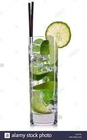 mojito cocktail mojito cocktail in highball glass isolated on white background