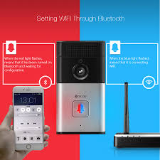 Ring Wi Fi Enabled Video Doorbell by Digoo Sb Xyz Wireless Bluetooth And Wifi Smart Home Hd Video