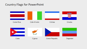 American Flag Powerpoint Background Country Flags Clipart For Powerpoint C To D Slidemodel