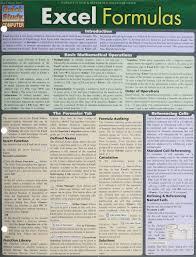 amazon com excel formulas quick study computer 9781423221692