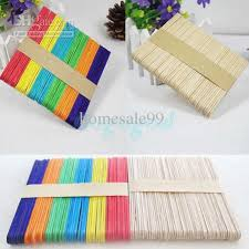 where can i buy lollipop sticks best 50x wooden lollipop sticks party popsicle kids crafts
