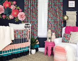 Navy And Pink Curtains Best 25 Coral Navy Nursery Ideas On Pinterest Navy Baby