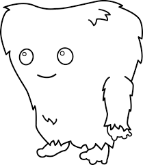 cute monsters coloring pages