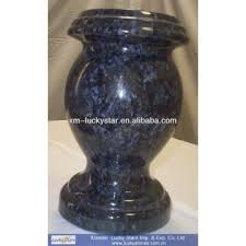 tombstone for sale product categories vase for tombstone hot sale butterfly blue