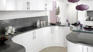 white gloss kitchen grey worktop google search kitchen ideas
