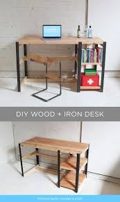 Diy Murphy Desk by Best 25 Homemade Desk Ideas On Pinterest Homemade Home Office