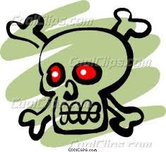 pirate skull crossbones vector clip