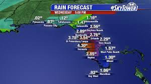 Brooksville Florida Map by Invest 98l Forms In The Gulf U2013 Heavy Rain Threat For Florida