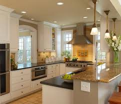 kitchen small galley with island floor plans cottage outdoor