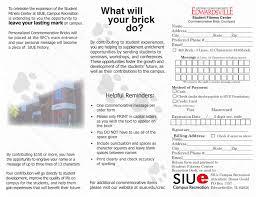 Siue Parking Map Siu E Brick Brochure U2013 Levi K Banker Design