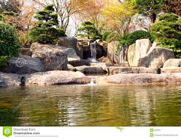 Water Rock Garden by Japanese Rock Garden Stock Image Image 803391