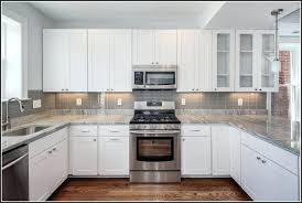 pictures of kitchen backsplashes with tile gray subway tile kitchen backsplash kitchen adorable gray subway