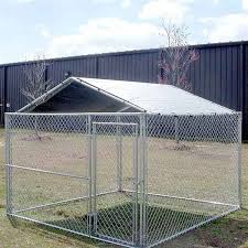 Dog Crate Covers Aleko 13ft X10ft Dog Kennel Cover