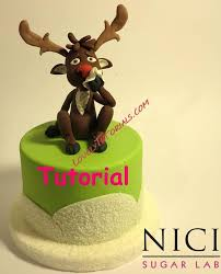 Christmas Cake Decorations Rudolph by 251 Best Cake Decorating Step By Step Christmas Images On