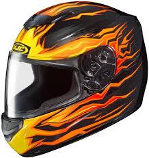 motorcycle helmets 62 95 hjc cs r2 flame block full face motorcycle helmet 206103