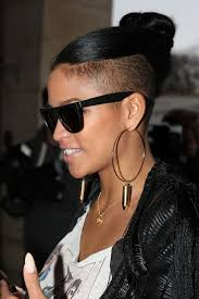 extension in shaved back and side hair hair story undercutting cassie un ruly