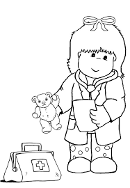 doctor coloring pages for kids 493056
