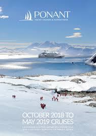 calaméo october 2018 to may 2019 cruises brochure b2b aud