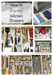 how to organise kitchen utensils drawer how to organize kitchen drawers the organized